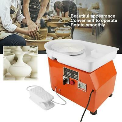 350W Electric Pottery Wheel Machine For Ceramic Work Clay Art Shaping Tool