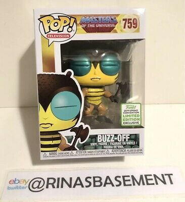 Funko Pop MOTU Buzz Off Masters of the Universe ECCC 2019 FYE Shared Exclusive