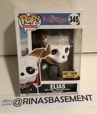 Funko Pop The Ancient Magus Bride Elias Hot Topic Exclusive CrunchyRoll nonChase