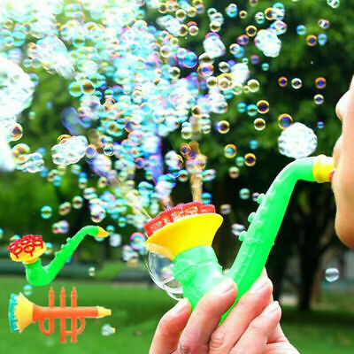 Summer Outdoor Water Blowing Toys Bubble Soap Bubble Blower For Kids Child Play