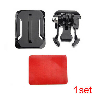 Helmet Curved Surface Mount Holder Sticker Adhesive For GoPro Hero 4 3+ 2