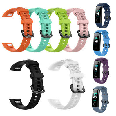 Soft Silicone Watch Band Strap Bracelet For Huawei Honor Band 4 Smart Wristband