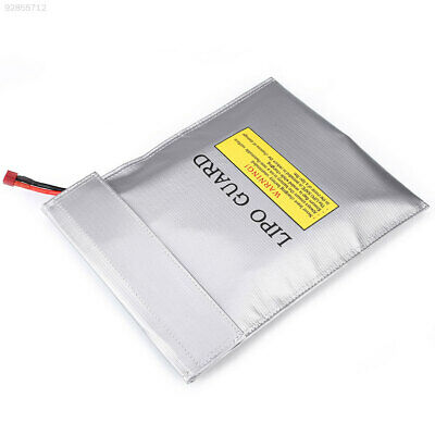 0DE6 LiPo Battery Fireproof Explosion-Proof Safety Guard Bags Double Sided