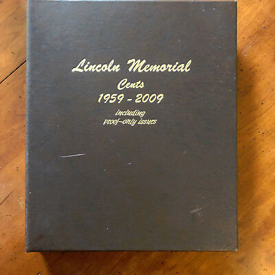 1959-2009 Complete Lincoln Memorial Cent Collection * BU P&D w/Proofs 158 Pc Set