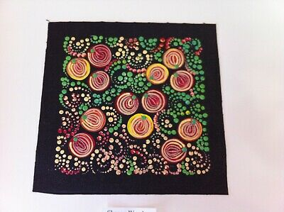 Shanon Woods 'Wild Bush Berries' - Original Aboriginal Dot Art