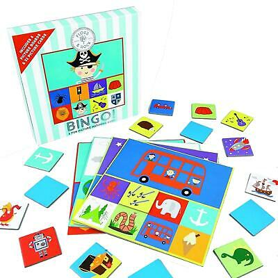 Floss & Rock Bingo By Pictures Boards & Cards Game For Children 2-4 Players
