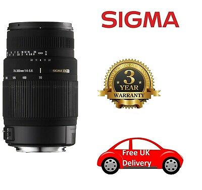 Sigma Pentax-Fit Image-Stabiliser (OS) 70-300mm F/4-5.6 DG Lens 572109, London