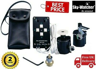 SkyWatcher Dual Axis Motor Drive With Handset For EQ3-2 Mount 20406, UK Stock