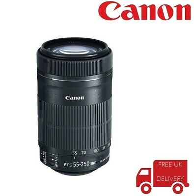 Canon EF-S 55-250mm F4-5.6 IS STM Telephoto Zoom Lens. In London