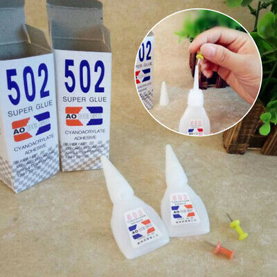 10pc 502 Super Glue Instant Cyanoacrylate Adhesive Strong Bond Fast Repair Tool