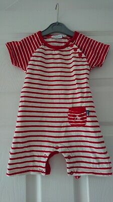 Jojo Maman Bebe Romper Suit / Summer Outfit For Boy Or Girl 3 - 6 Months cotton