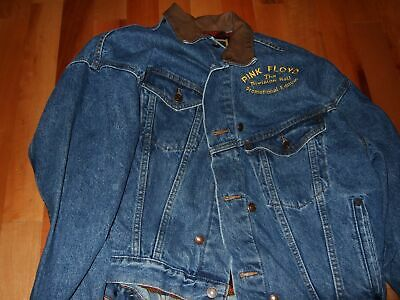 Pink Floyd : The Division Bell Deluxe High Quality Denim Jeansjacket Usa