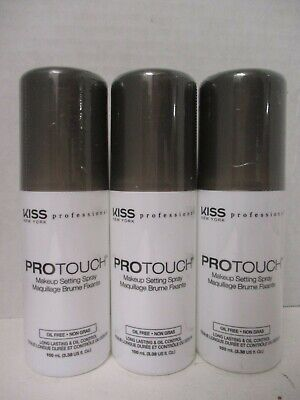 3 Kiss New York Professional Protouch Makeup Setting Spray Oil Control - Jp 2091
