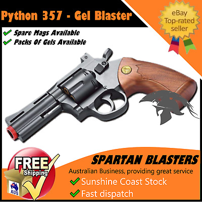 Gel Ball Blaster Toy 357 Python Water Crystal Bullet Outdoor Gun 100% AU STOCK