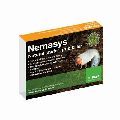 Chafer Nematodes 100sqm Grub Fast Natural Protective Pest Control Easy To Use