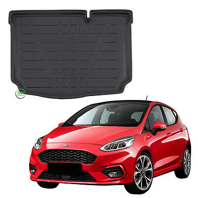 FORD FIESTA 2018-up Tailored Boot tray liner car mat Heavy Duty