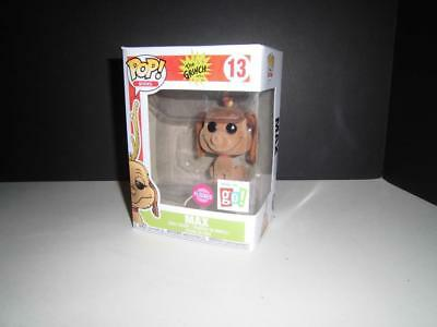 Funko Pop Grinch Max Flocked Go Exclusive - Vaulted Classic Dr. Seuss Book