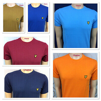 Lyle And Scott Short Sleeve T-Shirt For Men Suitable For Summer