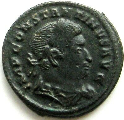 """Constantine I """"the Great""""_307 - 337 AD_AE Follis_Trier mint"""