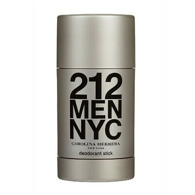 Carolina Herrera 212 Men Nyc 75Ml Deodorant Stick Brand New & Sealed