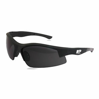 Smith & Wesson Accessories M&P Shooting Glasses Smoke Lens Frame Black 110169
