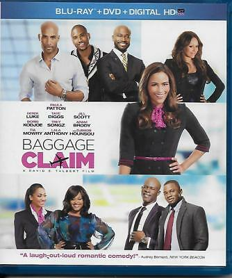 Baggage Claim 2014 Blu-ray Disc 2-Disc Set Great Comedy Movie Watched Only Once