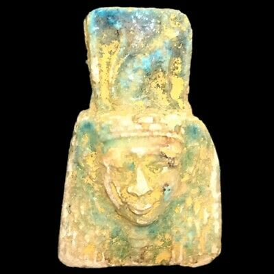 Rare Beautiful Ancient Egyptian Amulet 300 B.c. (6)