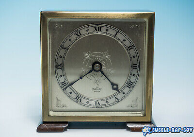 Elliot Small Mantle Clock 8 Day Non Striking /manual Wind Up