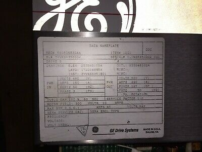 Refurbished General Electric Drive System (#58050683CAA)