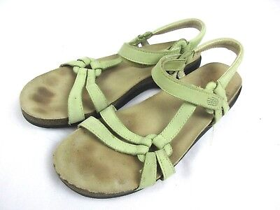 4f755105d74f Teva women s size 9 Mint Green Waterproof Leather Outdoor Hiking Sandals