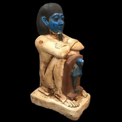 Very Rare Ancient Egyptian Statue Late Period 664 - 332 Bc (5) Large 3.3 Kg !!!!