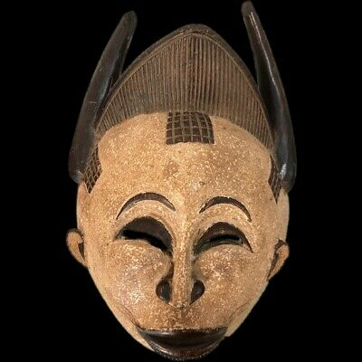 Rare Ancient Life Sized  Pre Columbian Ancient Mask 900 B.C. - 300 B.C. (3)