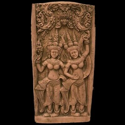 Rare Huge Gandhara Ancient Stone Pictorial Plaque On Stand 200-400 Ad Over 3Kg !