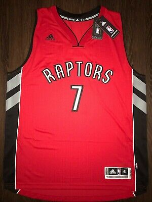 eebc9e07d70 New! Kyle Lowry Men's XL Adidas Rev30 Toronto Raptors Swingman NBA Jersey  Red