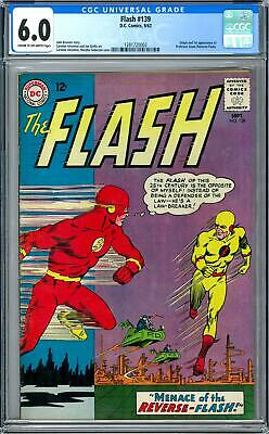 Flash #139 CGC 6.0 (C-OW) Origin and 1st appearance of (Reverse-Flash).