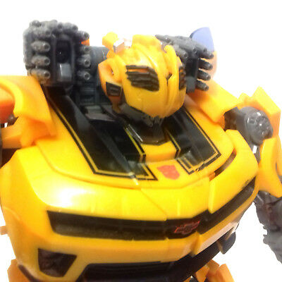 """Transformers Movie Bumblebee Battle Ops 14"""" Camaro Robot to car toy VERY RARE"""