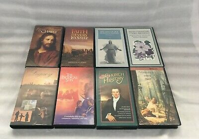 Lot Of 8 Lds Mormon Vhs Video Tapes - Church History / Pioneer / Family / Legacy