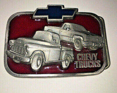 Buckles of American Chevy Trucks Belt Buckle - BA306