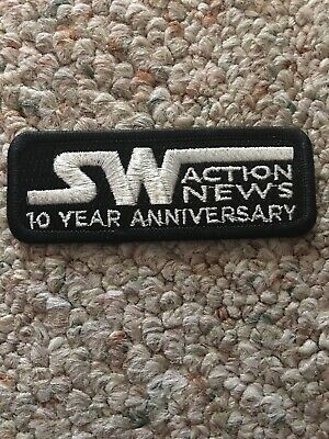 Star Wars Celebration Chicago 2019 Patch 10 Year Anniversary Action News
