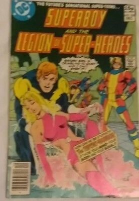 Superboy And The Legion Of Super Heroes #258