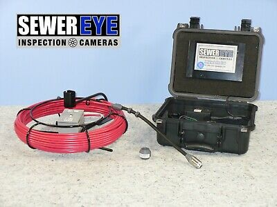 Battery/Ac Sewer Eye Inspection Cameras  1'' Color Small Pipe Inspection Camera