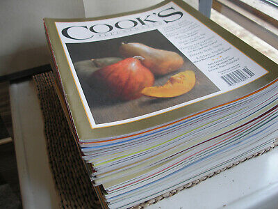 Stack of 40 COOK'S ILLUSTRATED including hard to find Charter Issue