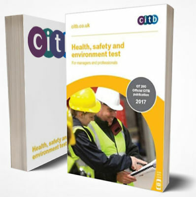 NEW 2017 CSCS CARD TEST BOOK for Managers and Professionals CITB GT 200/17