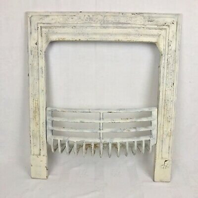 Antique Cast Iron Fireplace Surround With Grate For Remodeling
