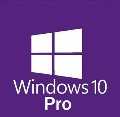 Genuine Windows 10 Professional Pro Key 32 / 64Bit Activation Code License Key.