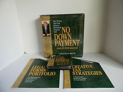 "Charleton Sheets  ""No Down Payment""  -  Manual + 12 Cd System + Bonuses - *Nib*"
