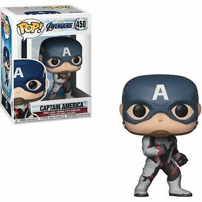 "Funko Toys PoP Marvel Avengers Endgame CAPTAIN AMERICA 4"" Figure #450"