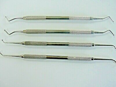 4 x burnishers top quality dental instruments