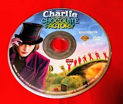 Charlie and the Chocolate Factory (DVD, 2005, Widescreen)**Disc Only** Free Ship