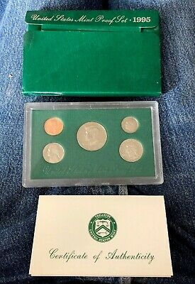 1995 S  U.S. Proof set. Genuine. Complete and original as issued by US Mint.